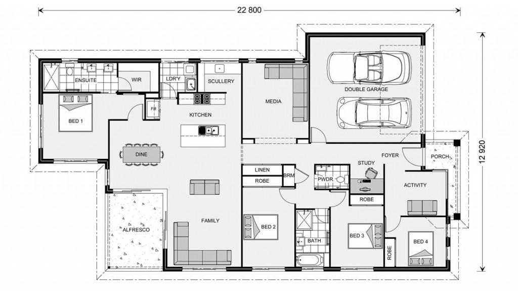 Edgewater 241 - Element Series Floorplan