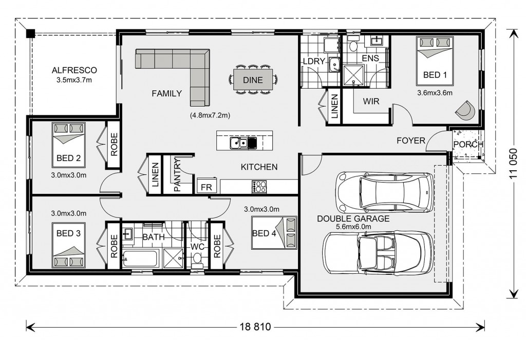 Nova 190 - Metro Small Floorplan