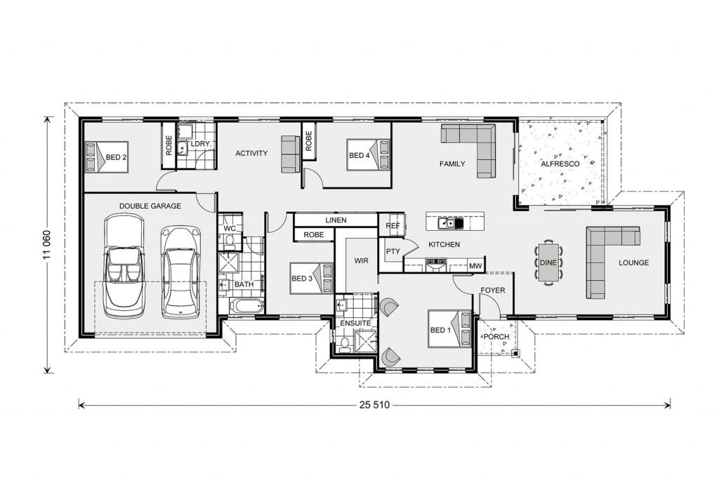 Rothbury 234 - Estate Series Floorplan