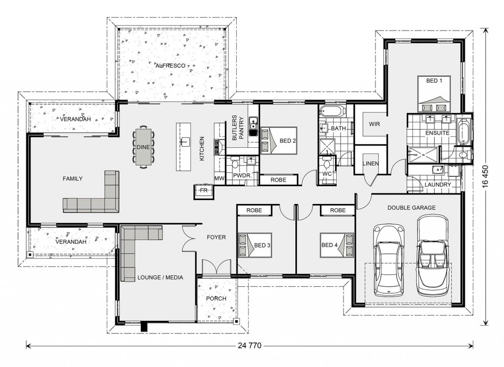 Fernbank Estate 305 - Estate Series Floorplan