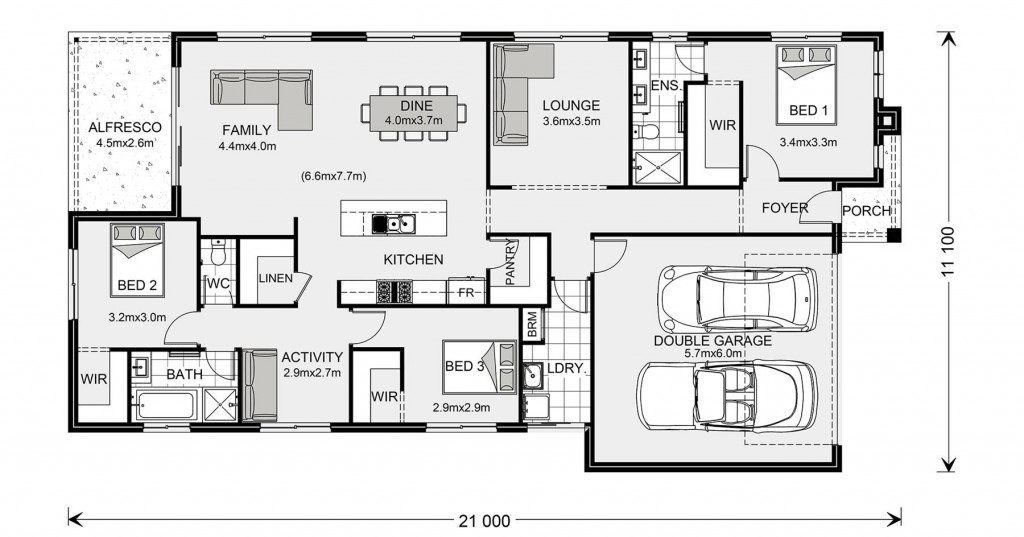 Portland 211 Floorplan