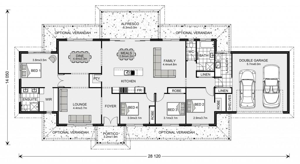 Maryvale 251 - Homestead Series Floorplan