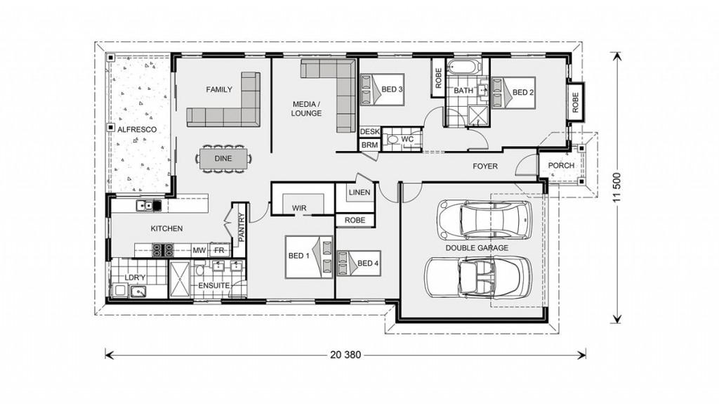 Seacrest 214 - Element Series Floorplan