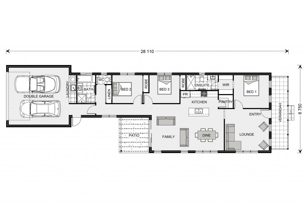 Greenhill Rear Lane - Rear Lane Series Floorplan