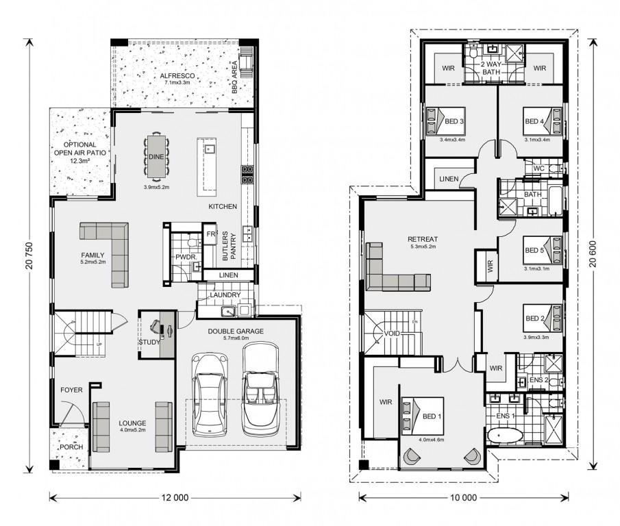 Bayview 370 Floorplan