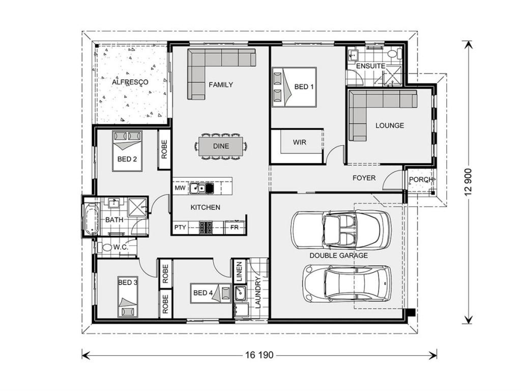 Fernbank 194 - Estate Series Floorplan