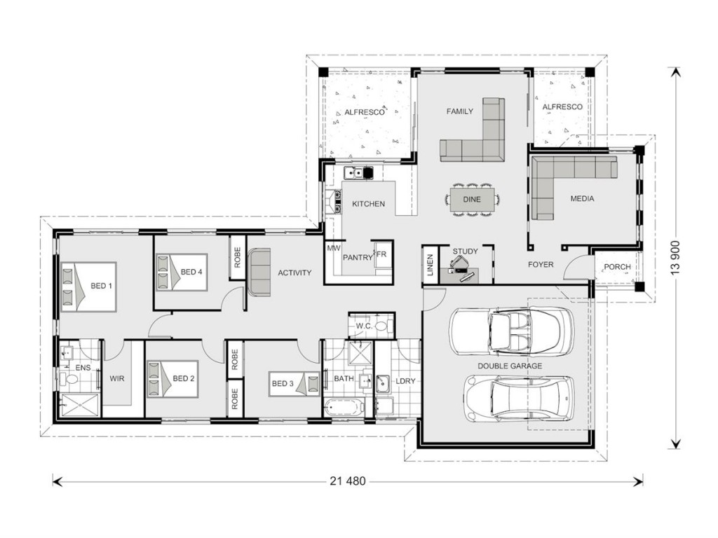 Parkview 215 Floorplan