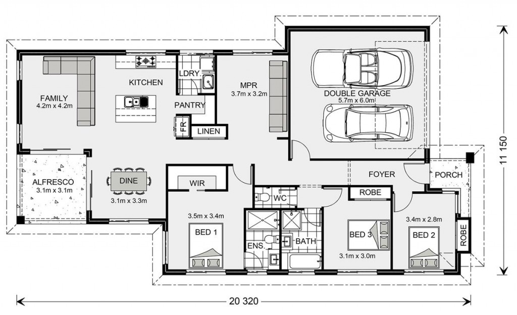 Hawkesbury 187 - Element Series Floorplan