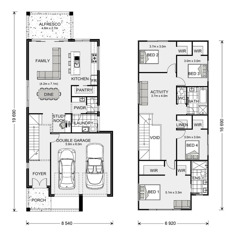 Ascot 250 - Metro Series Floorplan