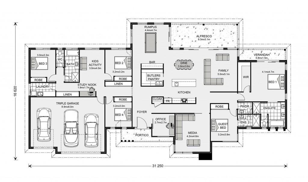 Somerset 400 Floorplan