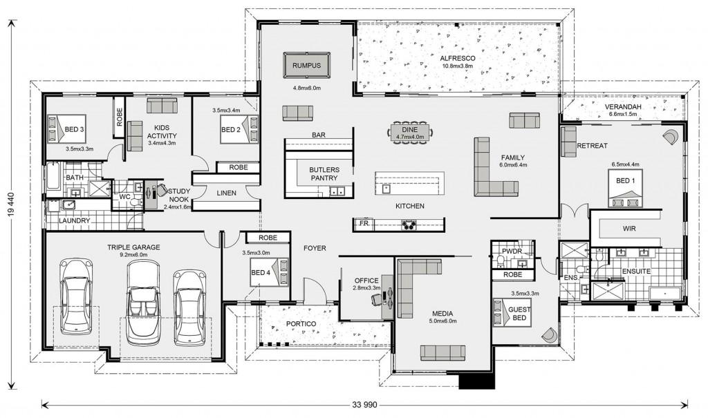 Somerset 513 - Prestige Series Floorplan