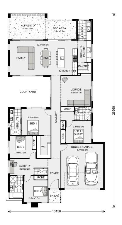 Stillwater 270 Floorplan