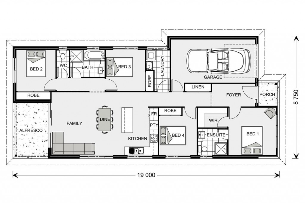 Calderwood 153 - Metro Series Floorplan