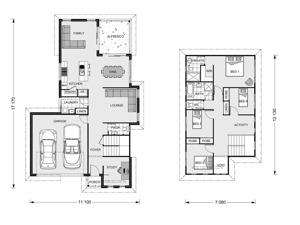 Kensington 226 - Express Series Floorplan