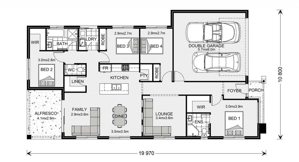 Bridgewater 190 Floorplan
