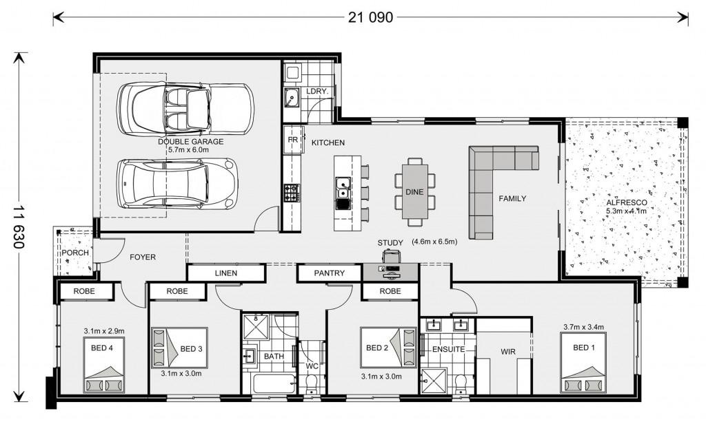 Melville NQ 207 Floorplan