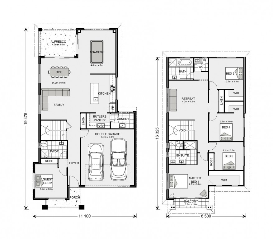 Balmain 300 - Element Series Floorplan
