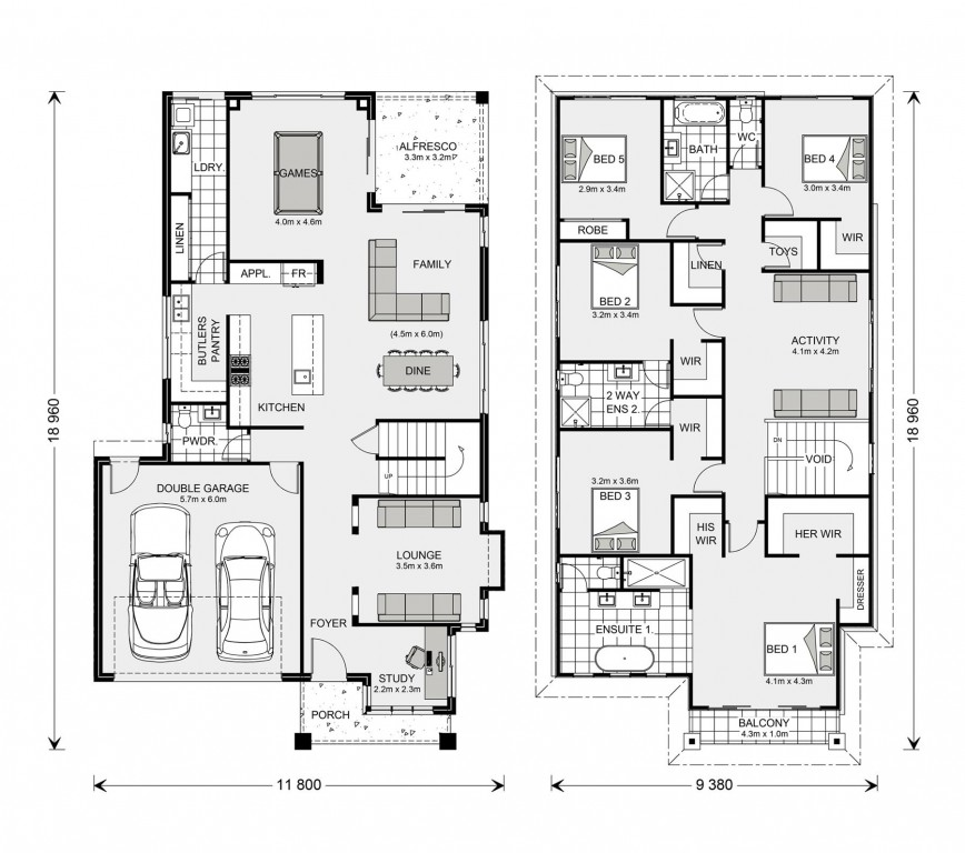 Elwood 344 - Element Series Floorplan