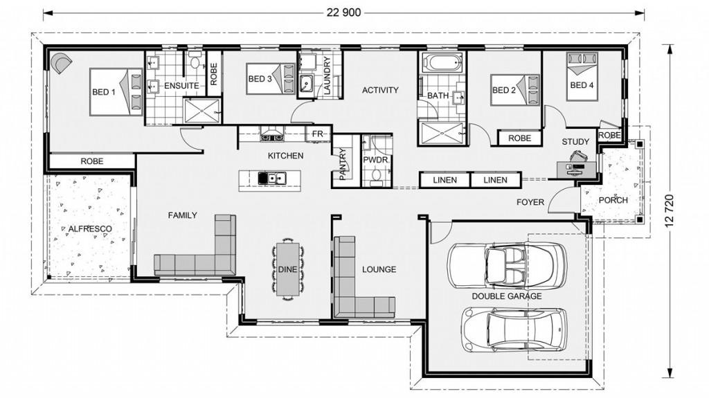 Beachmere 252 - Element Series Floorplan