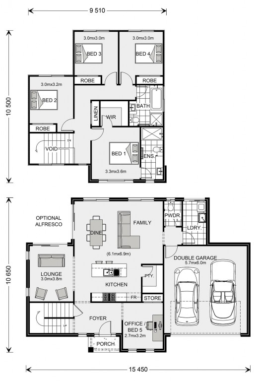 Greenhaven 219 - Express Series Floorplan