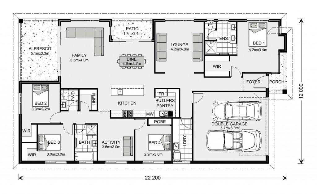 Portside 257 - Element Series Floorplan