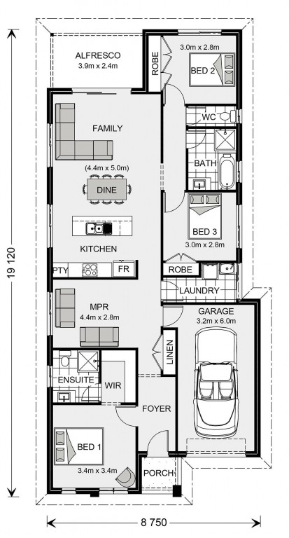 Stonehaven 153 - Express Series Floorplan