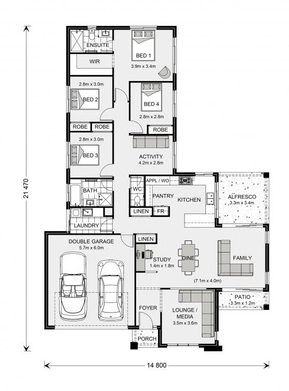 Parkview 221 - Element Series Floorplan