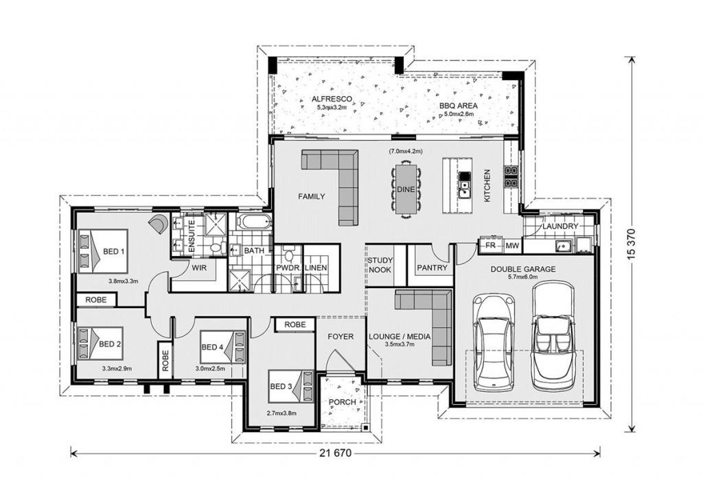 Stillwater Estate 235 - Estate Series Floorplan