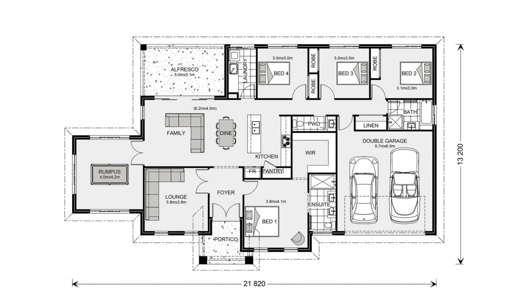 Oakdale Estate 232 - Estate Series Floorplan