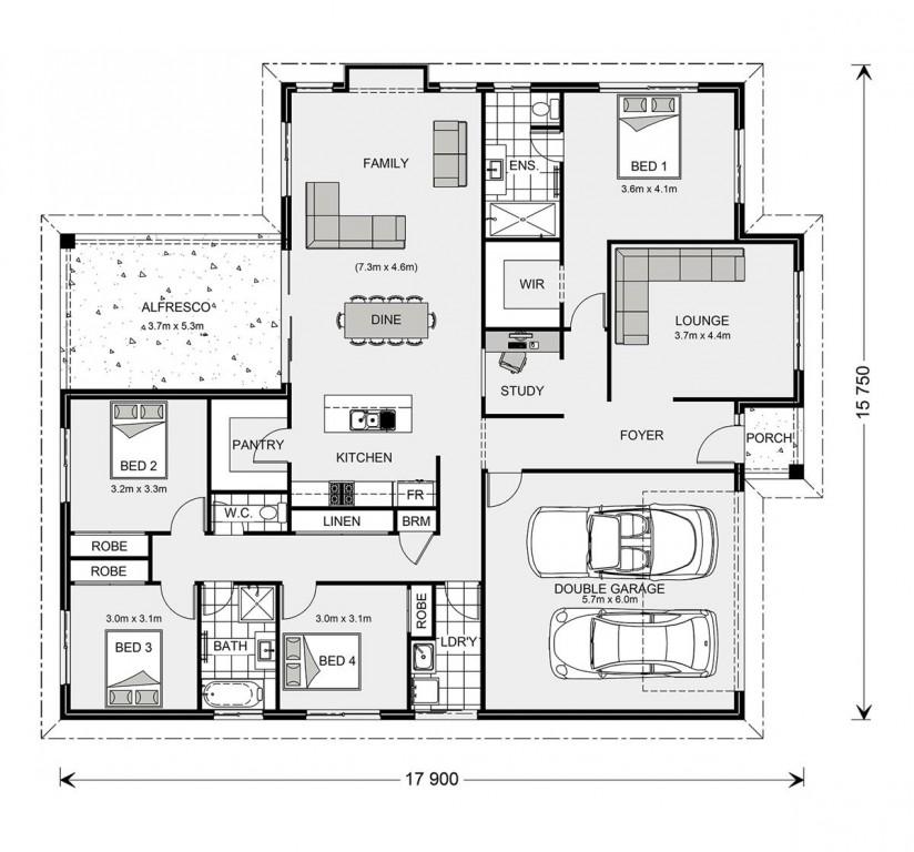 Fernbank 242 - Element Series Floorplan