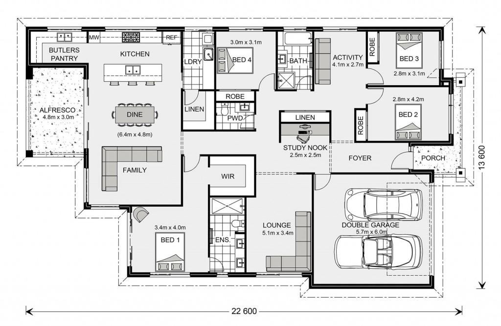 Newport 261 Floorplan