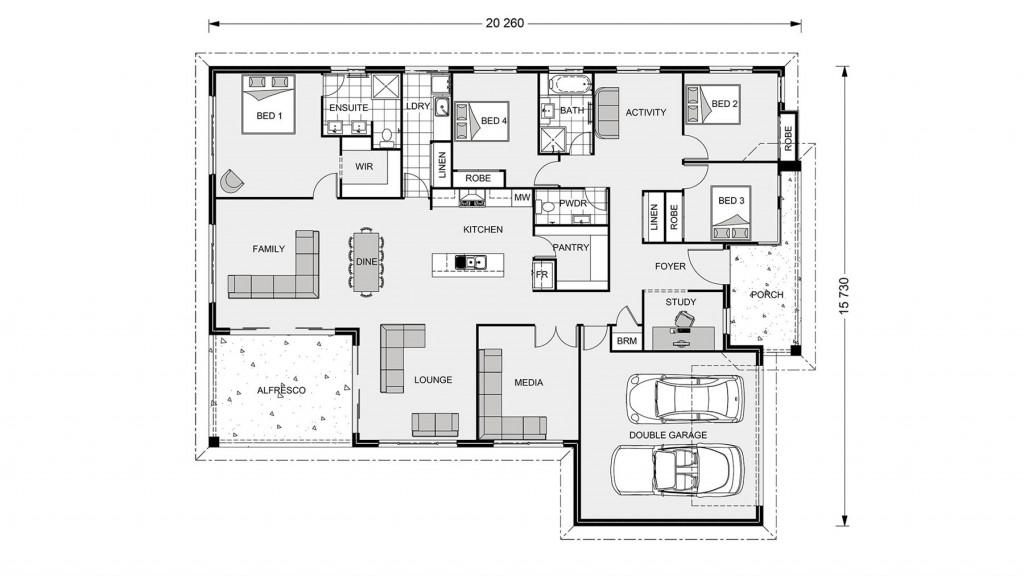 Iluka 276 - Element Series Floorplan