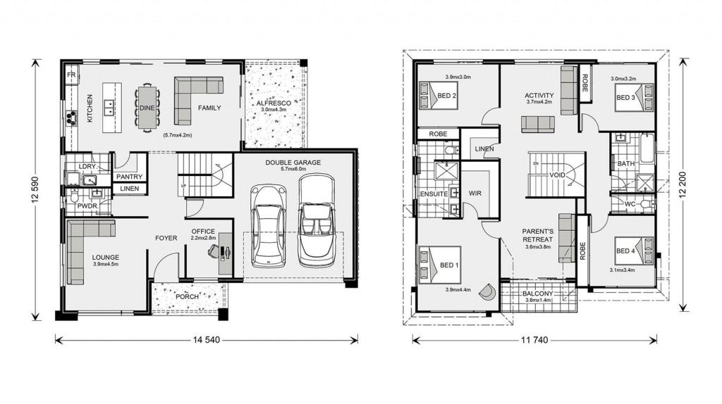 Esplanade 294 - Element Series Floorplan