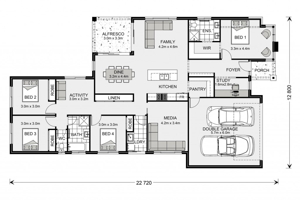 Coolum 225 - Element Series Floorplan