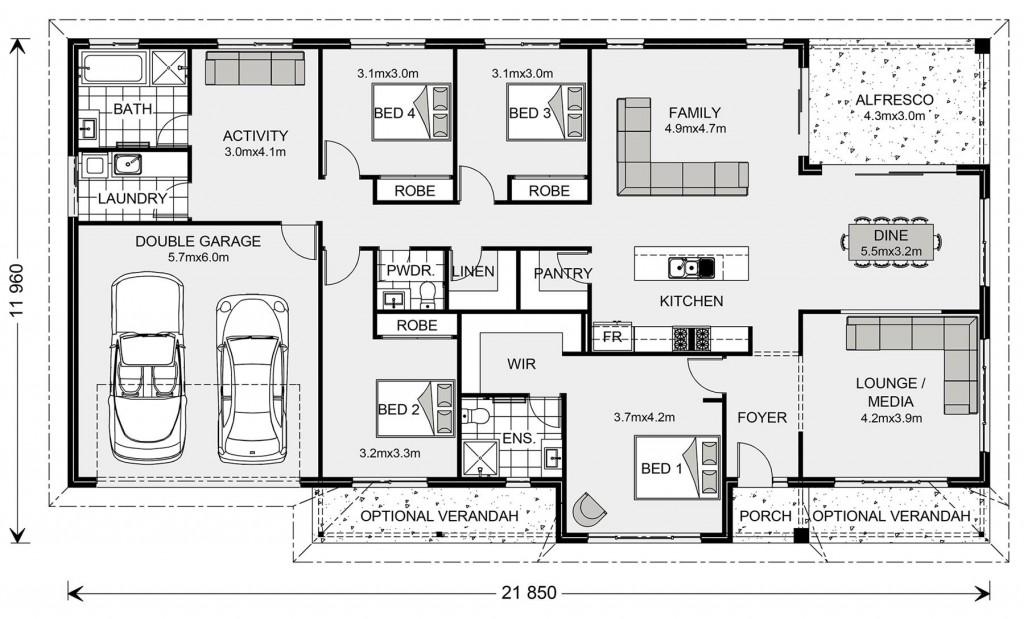 Balmoral 240 - Homestead Series Floorplan