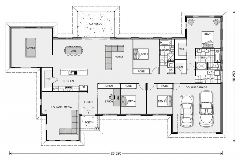 Kingaroy Estate 304 - Estate Series Floorplan