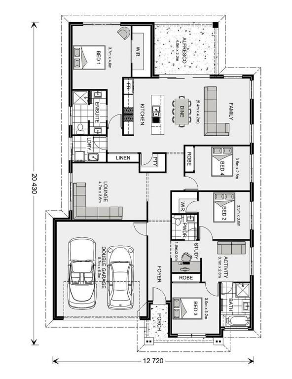 Forest Park 228 - Element Series Floorplan