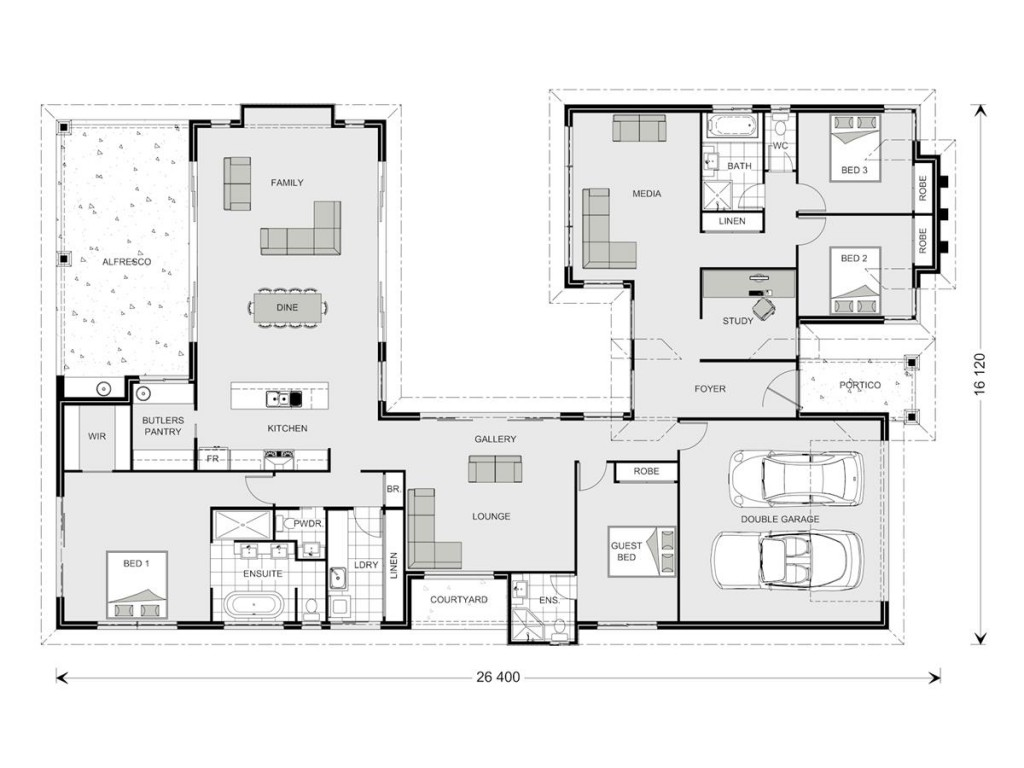 Mandalay 338 Floorplan