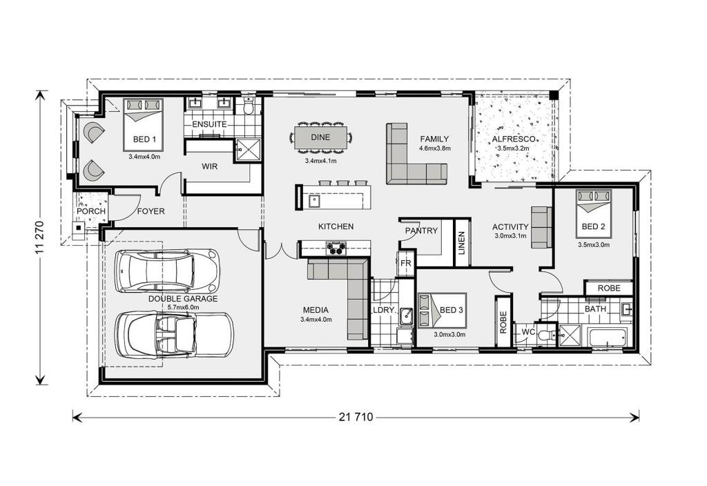 Benowa 210 - Element Series Floorplan