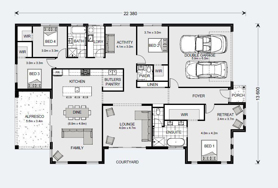 Long Bay 280 - Element Series Floorplan