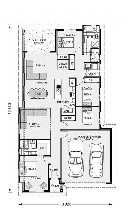 Bridgewater 186 - Element Series Floorplan