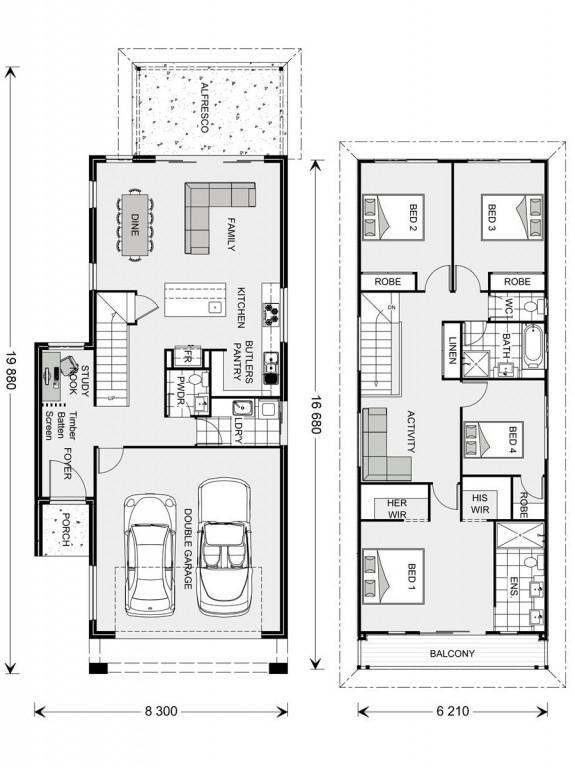 Pine Rivers 236 Floorplan