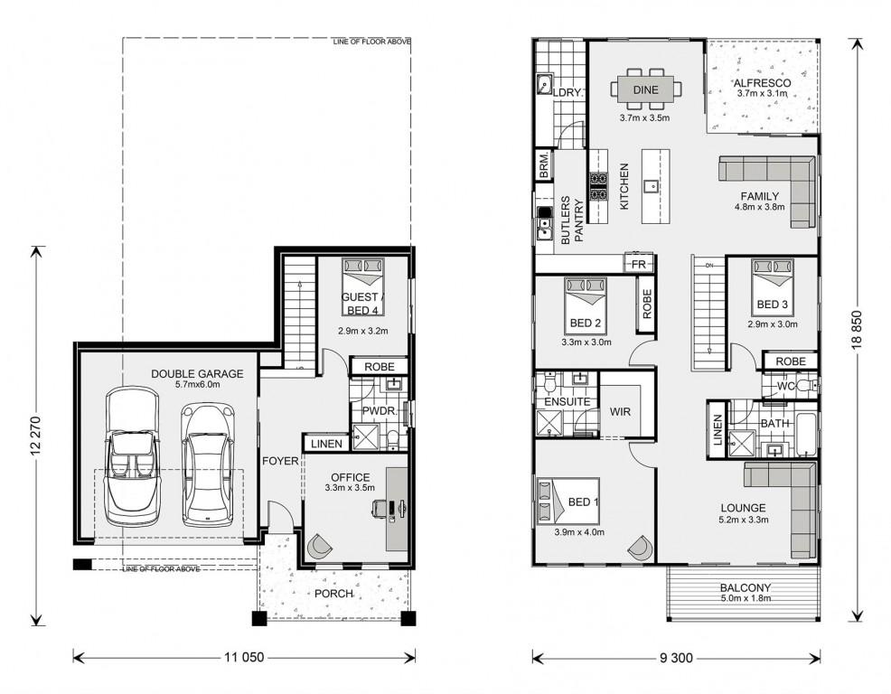 Seaview 267 Split Floorplan