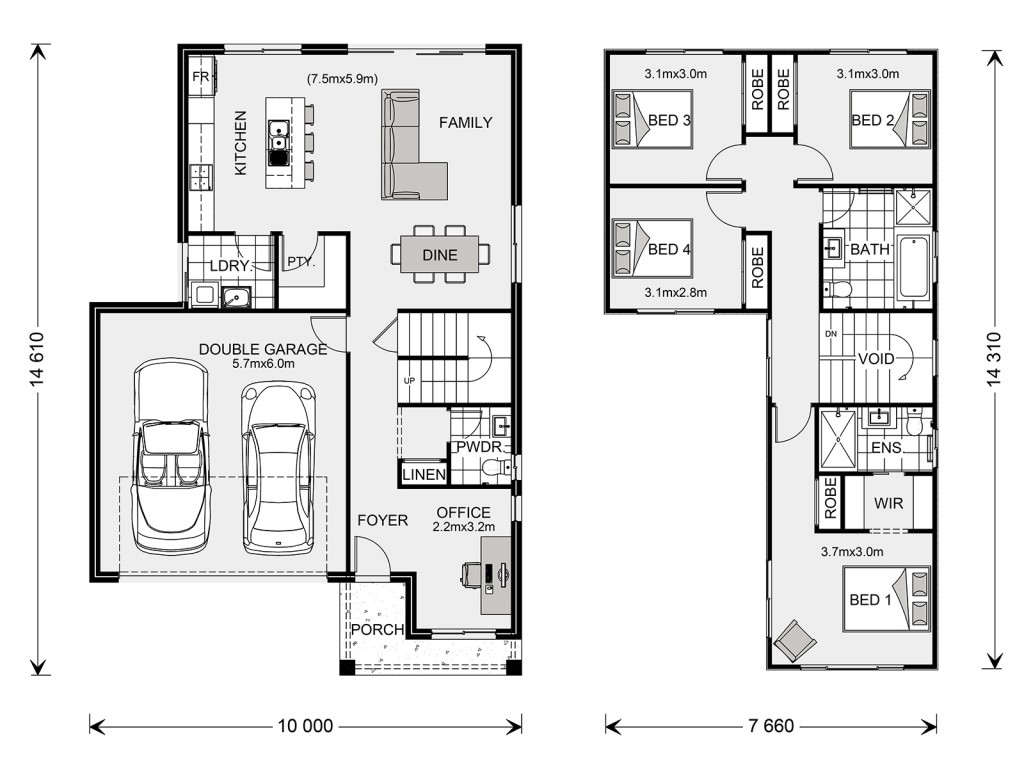 Sandringham 200 - Express Series Floorplan