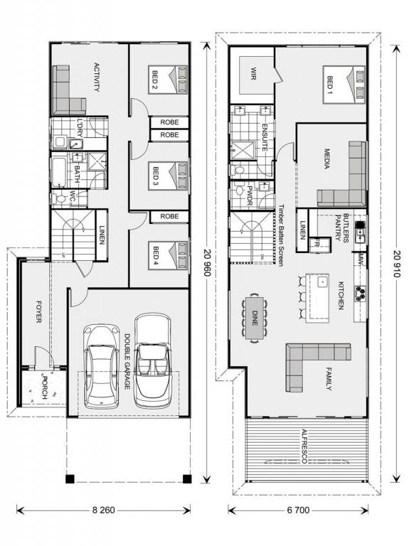 Hamilton 266 Floorplan