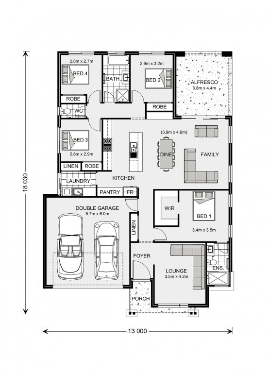 Vista 211 Floorplan