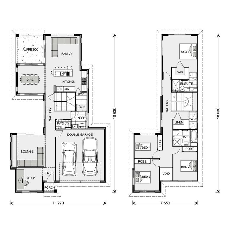 Galleria 250 - Element Series Floorplan
