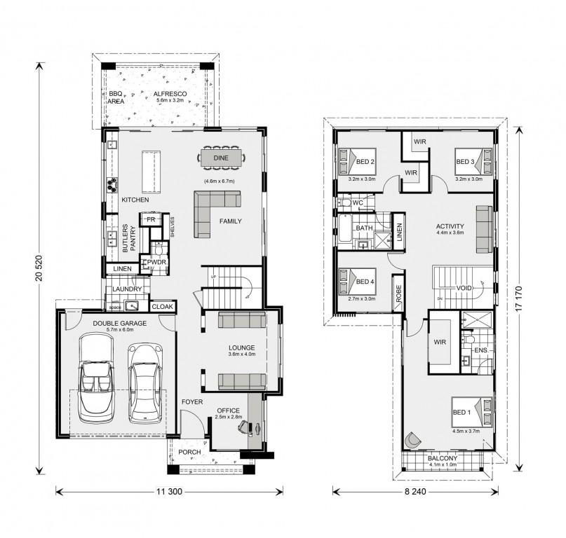 Kingscliff 285 - Element Series Floorplan