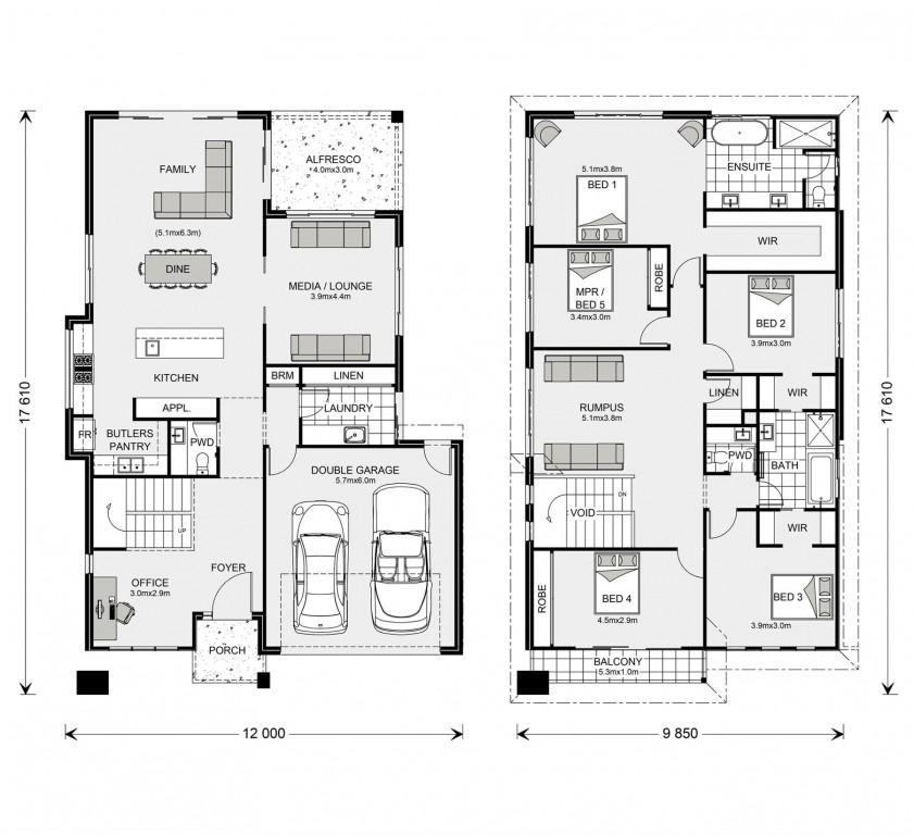 Coogee 333 - Element Series Floorplan