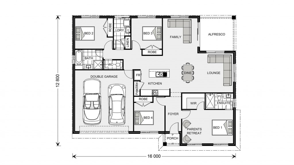 Brighton 195 - Express Series Floorplan